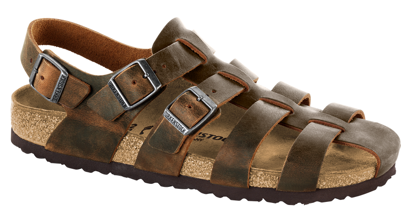 Birkenstock Zadar camberra tobacco oiled leather