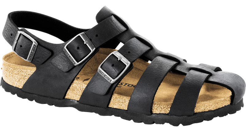 Birkenstock Zadar camberra black oiled leather