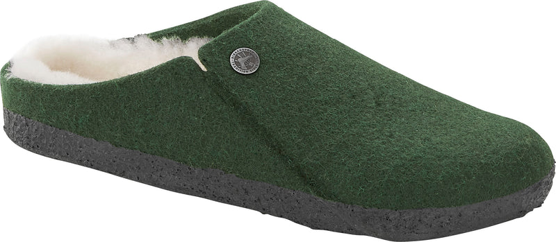 Birkenstock Zermatt Shearling forest green wool
