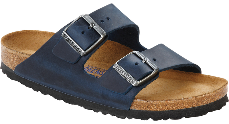 Birkenstock Arizona Soft Ftbd insignia blue oiled leather