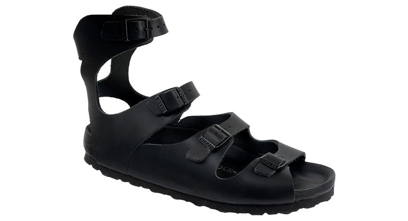 Birkenstock Athens Exquisite black leather