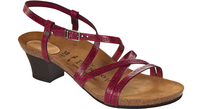 Papillio Bella pink leather licensed by Birkenstock