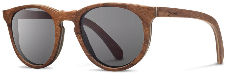 Shwood Belmont Wood Sunglasses walnut