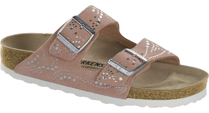 Birkenstock Arizona Rivets rose suede