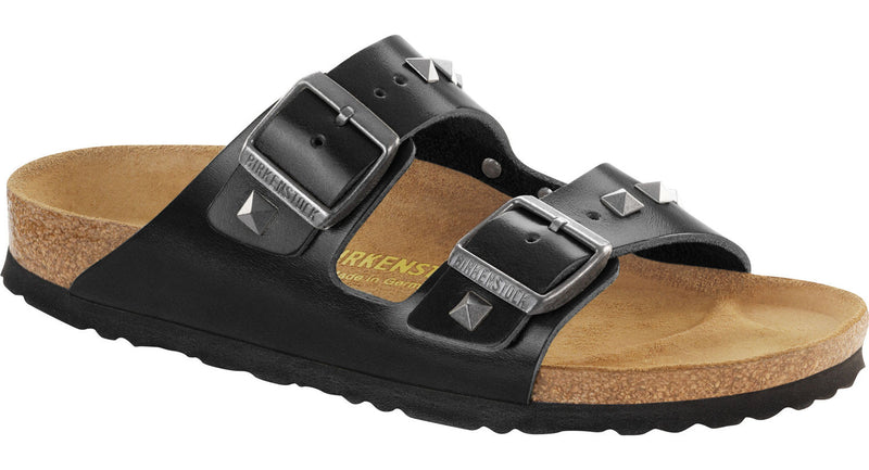 Birkenstock Arizona studded black leather