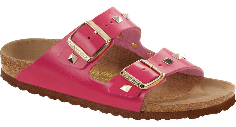 Birkenstock Arizona studded pink leather