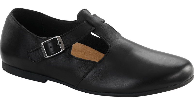 Birkenstock Tickel black leather