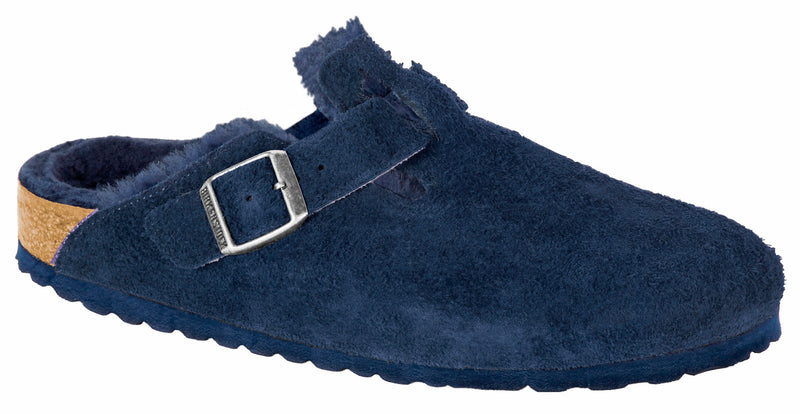 Birkenstock Boston night suede with night shearling