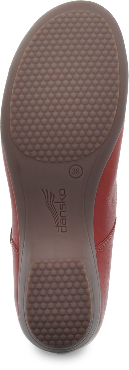 Dansko Fawna coral burnished full grain