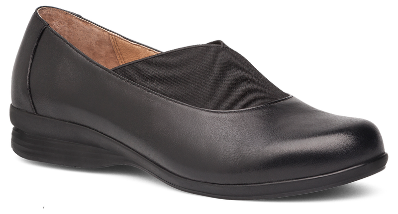 Dansko Ann black nappa leather