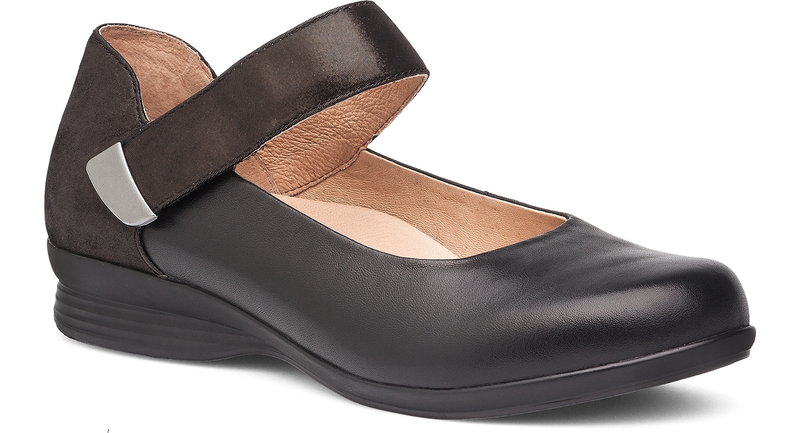 Dansko Audrey black nappa leather