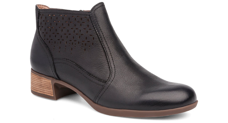Dansko Liberty black burnished nappa leather