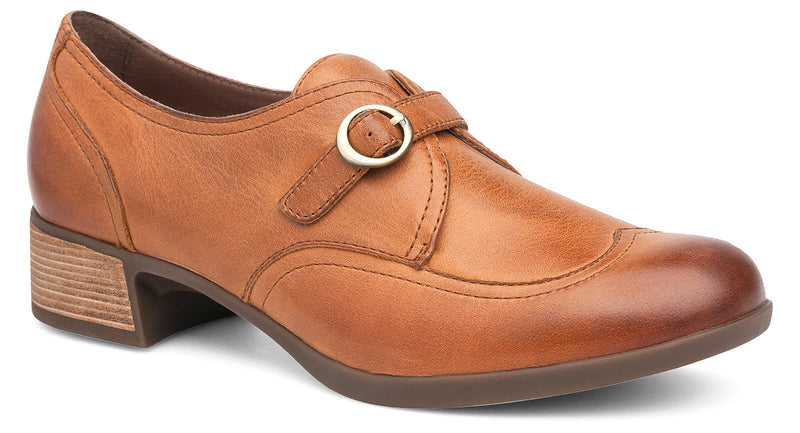 Dansko Livie saddle burnished nappa leather