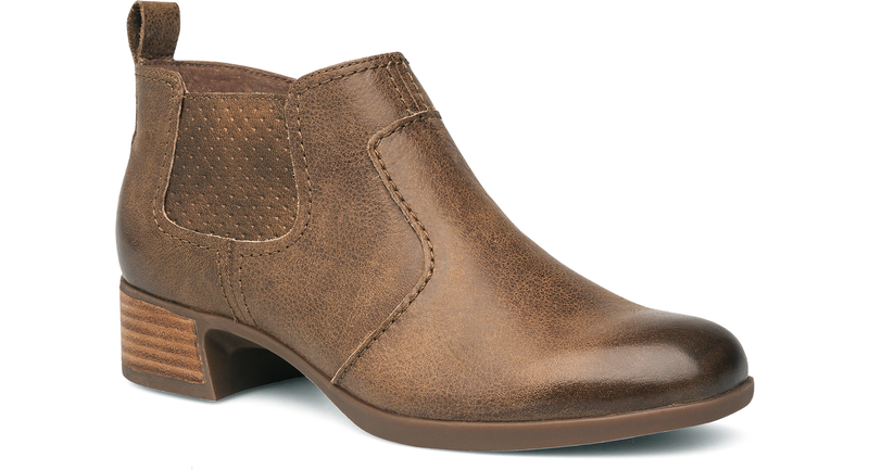 Dansko Lola taupe burnished nappa leather
