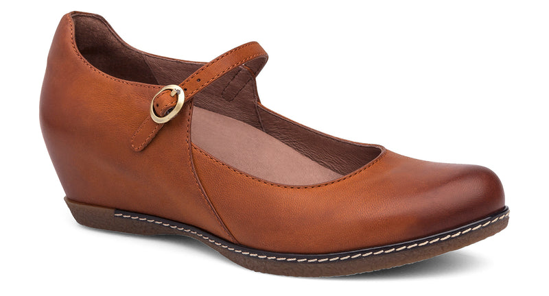 Dansko Loralie saddle burnished nubuck