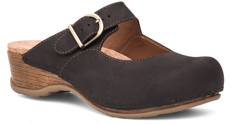Dansko Martina black oiled leather
