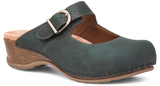 Dansko Martina teal oiled leather