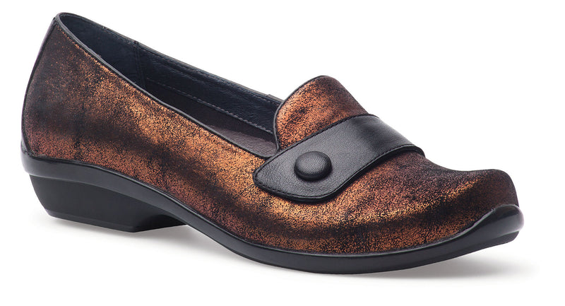 Dansko Olena copper metallic leather