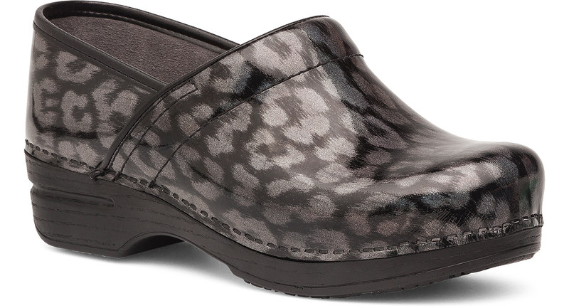 Dansko Professional XP iridescent leopard leather