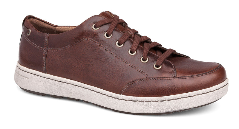 Dansko Vaughn brown tumbled pull-up leather