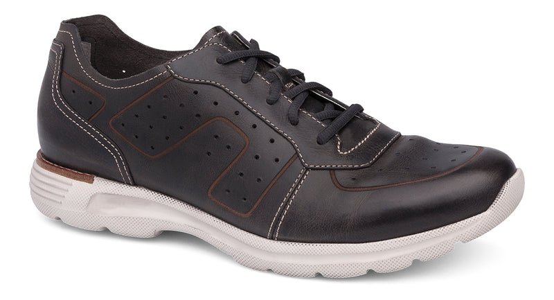 Dansko Wesley black vintage pull-up leather