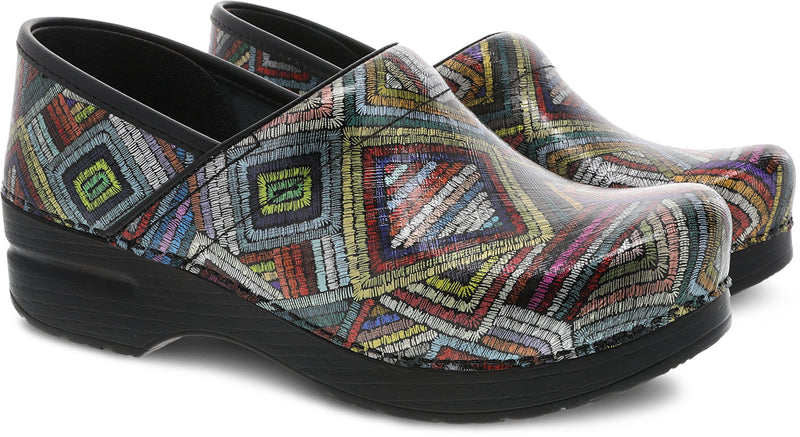 Dansko Women's Professional color maze patent