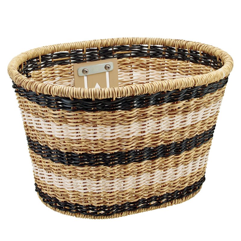 Electra Plastic Woven Basket