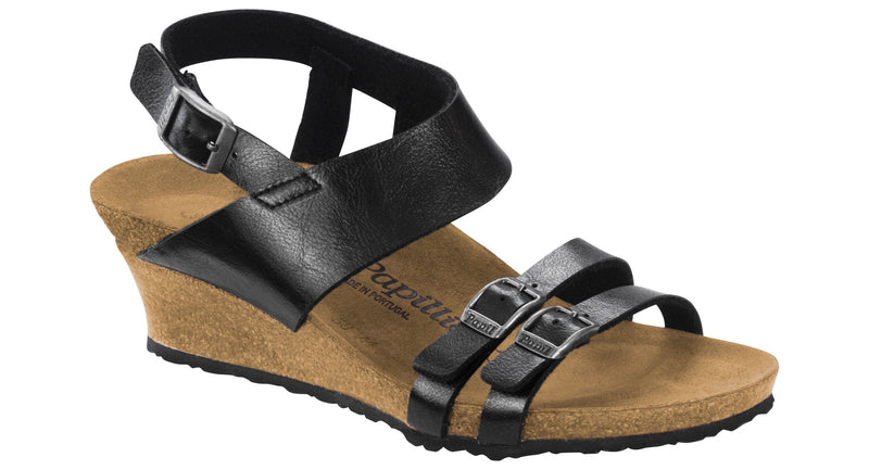 Papillio Ellen graceful licorice Birko-Flor licensed by Birkenstock