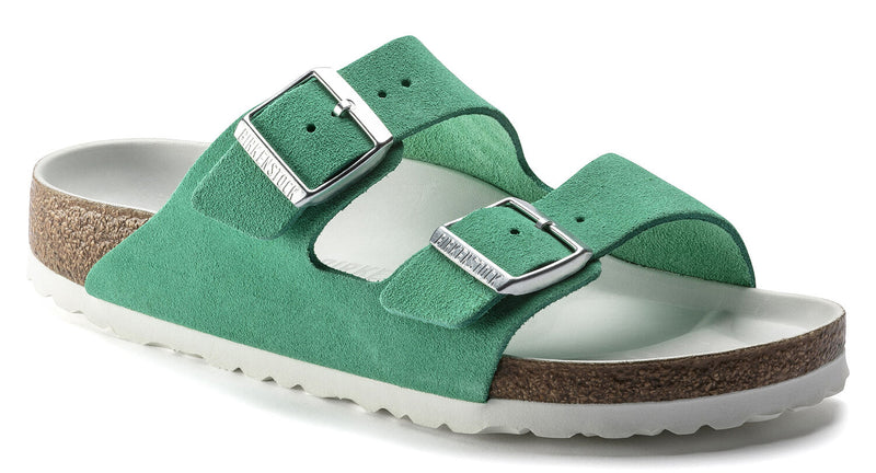 Birkenstock Arizona Hex emerald suede