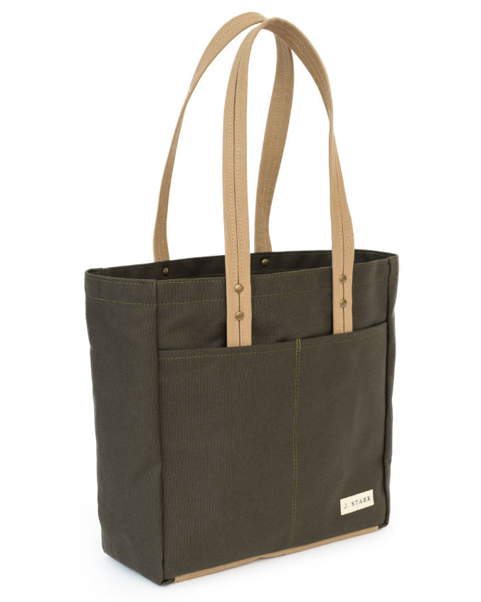 J Stark Franklin Canvas Tote