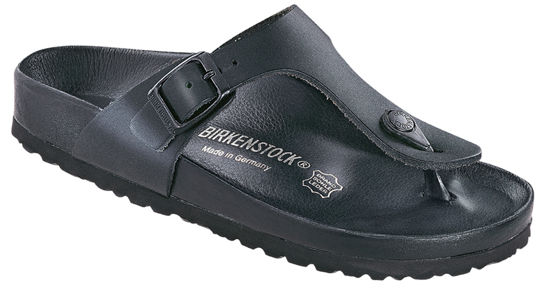 Birkenstock Gizeh Exquisite black leather
