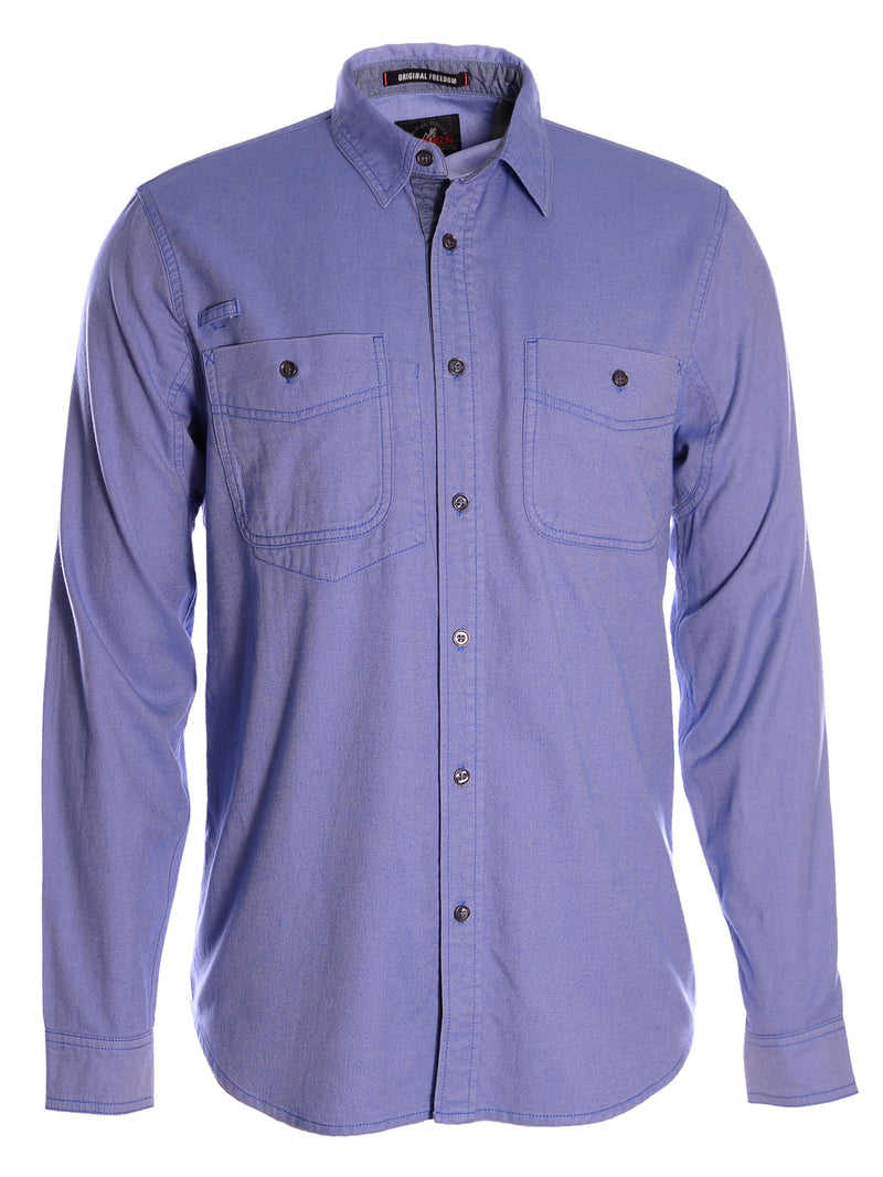 Gramicci Men's Twill Flannel Shirt