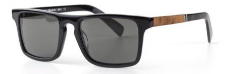 Shwood Govy 2 Sunglasses black/maple burl