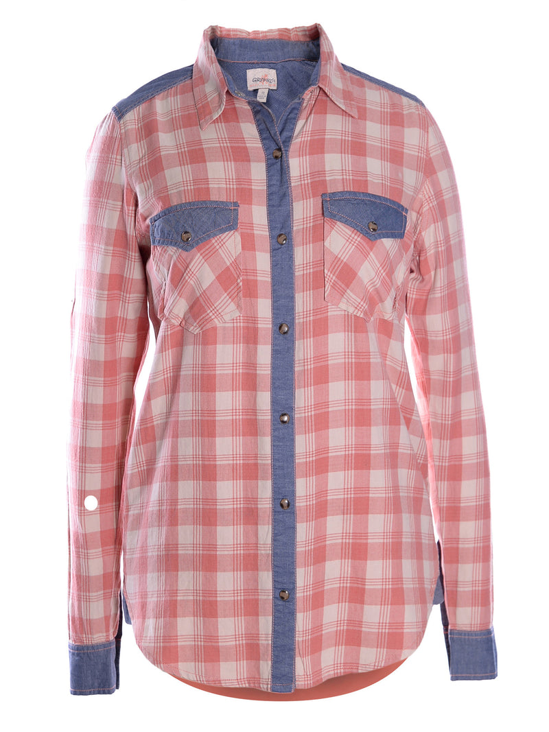 Gramicci Women's Runyon Plaid Shirt