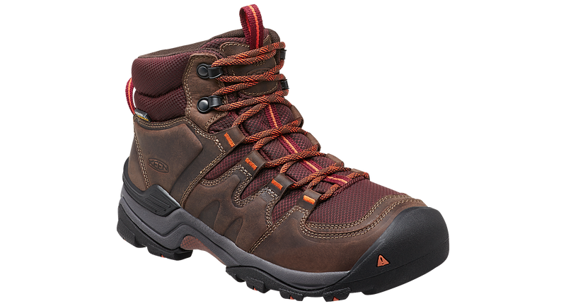 Keen Women's Gypsum II Mid cocoa/tiger lilly