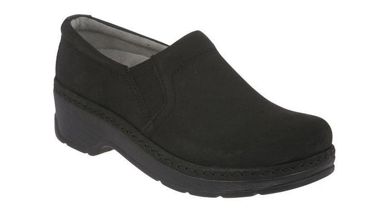 Klogs Women's Naples black oiled leather