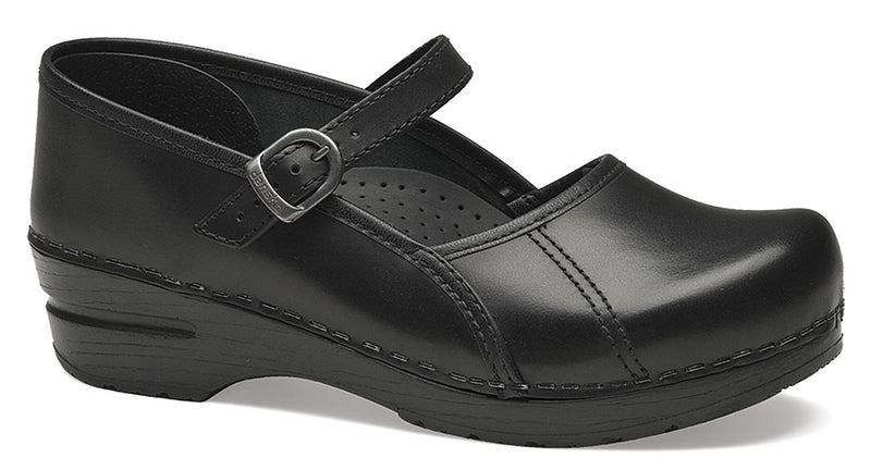 Dansko Marcelle black cabrio leather