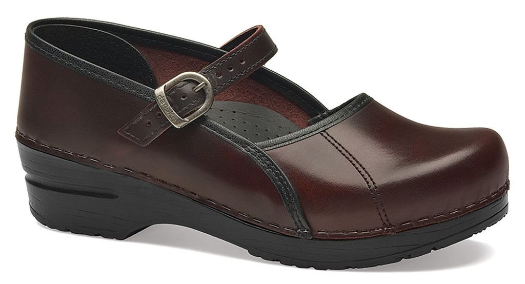 Dansko Marcelle cordovan cabrio leather
