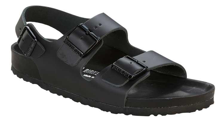 Birkenstock Milano Exquisite black leather