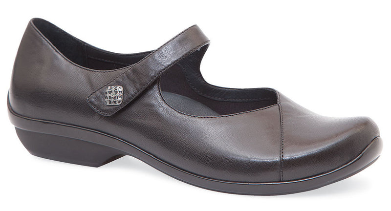 Dansko Opal black nappa leather
