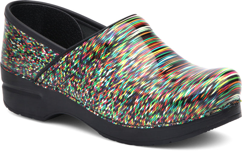Dansko Professional pixel patent leather