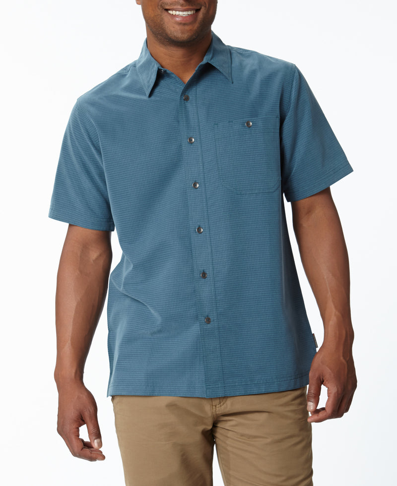 Royal Robbins Men's Mojave Desert Pucker Short Sleeve