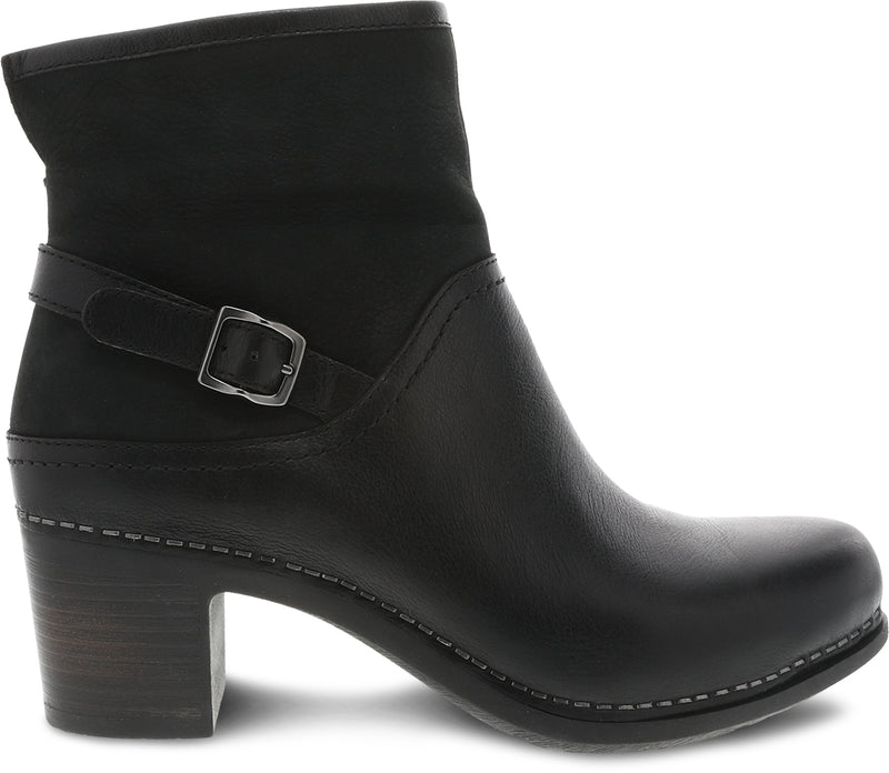 Dansko Women's Hayley black milled calf