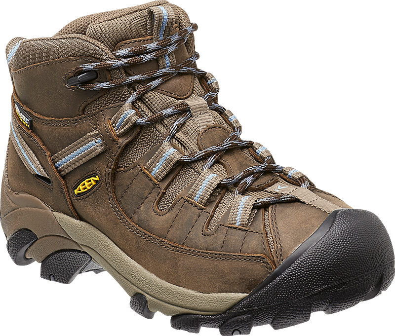 Keen Women's Targhee II Mid slate black (brown)/flint stone