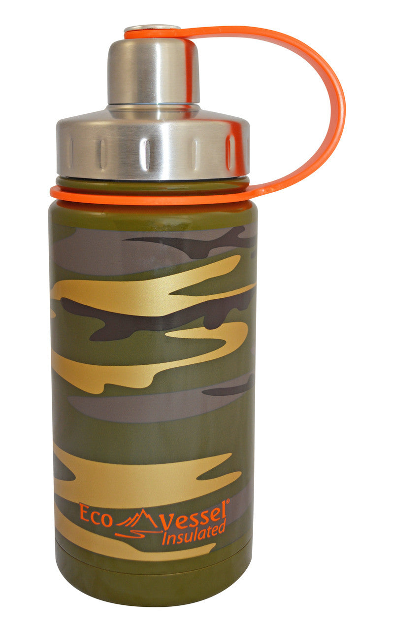 EcoVessel Twist Kids Triple Insulated Bottle w/ Screw Cap - 13 oz.