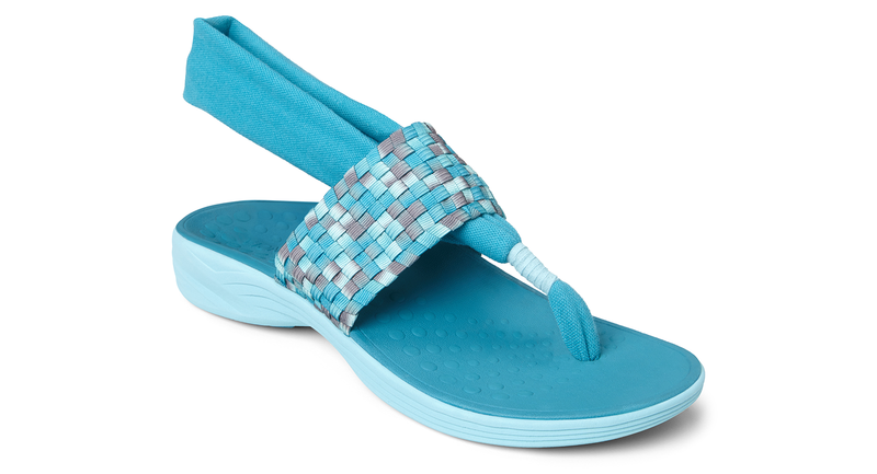 Vionic Tia Ankle Strap teal