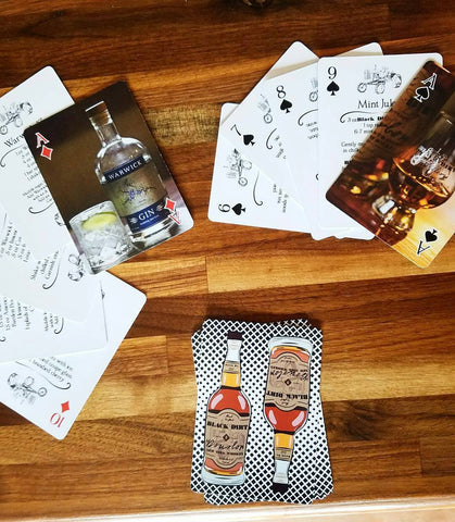 Black Dirt Distillery Cocktail Playing Cards