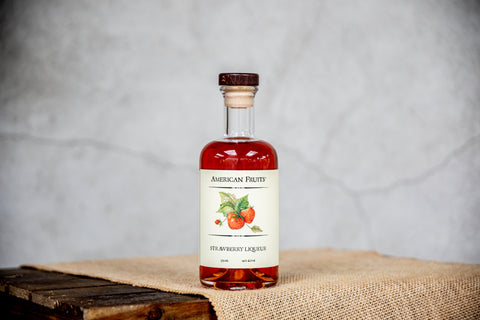 American Fruits Strawberry Liqueur