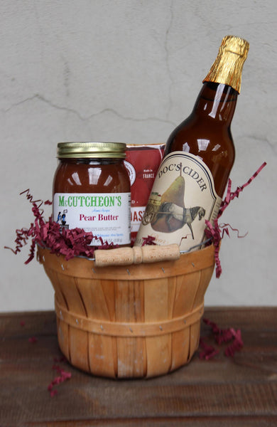 Pear Cider & Butter Basket