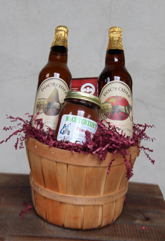 Pair of Ciders & Basket